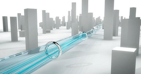 Quantenkryptographie-Netz in Genf gestartet (Bild: Secoqc.net)