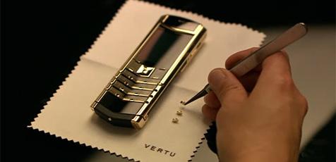 Neues Luxus-Handy von Vertu zum Jubiläum (Bild: Vertu)