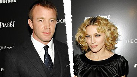 Madonna war die Herrin, Guy musste gehorchen