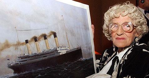 """""""Titanic""""-Überlebende versteigert Memorabilia (Bild: EPA)"""