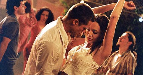 Jolie: Verliebt, als Brad noch verheiratet war (Bild: ORF)