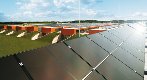Fronius legt dank Solartechnik kräftig zu (Bild: Fronius)