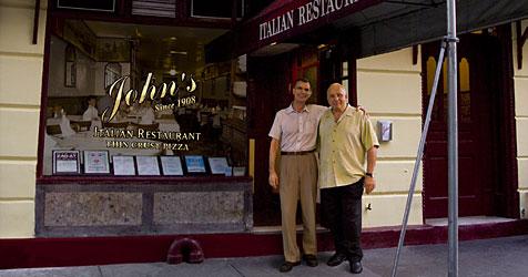 Restaurant feiert Geburtstag mit Preisen von 1908 (Bild: www.johnsof12thstreet.com)
