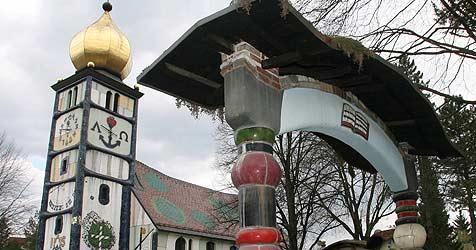 Hundertwasser-Schüler lassen Werke sprechen (Bild: Jürgen Radspieler)