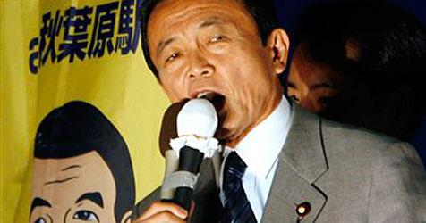 Japans Regierungschef hat kaum Zeit für Mangas