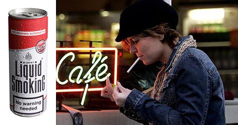 Briten gehen ab jetzt auf ein Schlückerl Zigaretten (Bild: United Drinks and Beauty Corporation (Pty) Ltd.)