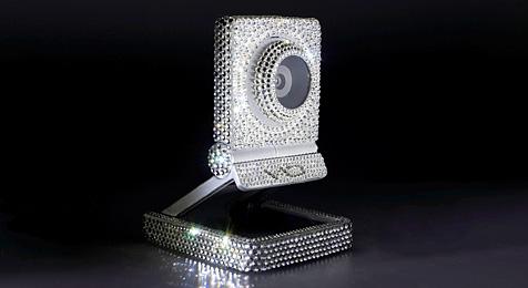 Edel-Webcam mit über 1.350 Swarovski-Kristallen (Bild: Speed Link)