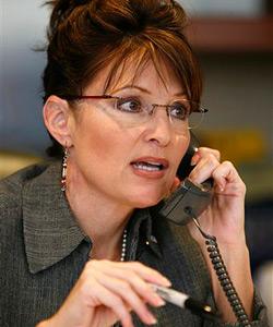 """Palin telefoniert mit """"Sarkozy"""""""