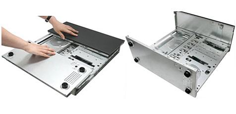 Asus stellt PC-Gehäuse zum Falten vor (Bild: Asus)