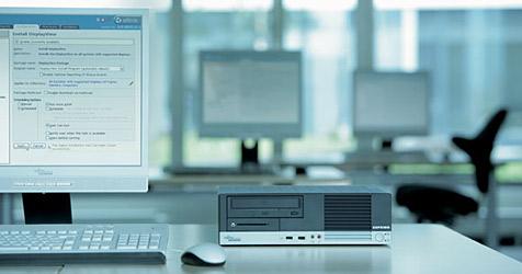 Computerpreise durch stärkeren Dollar im Steigen (Bild: Fujitsu Siemens)