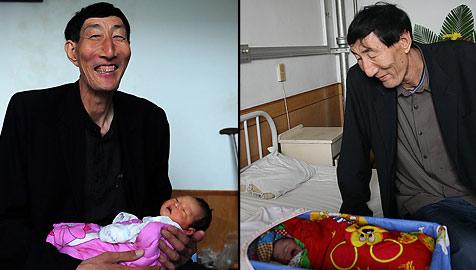 Größter Mann der Welt ist Vater geworden