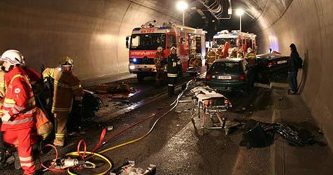 Betrunkener Dieb verursacht schweren Unfall