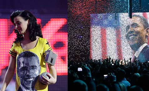 MTV Awards ganz im Zeichen der Obamania