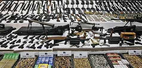30.000 illegale Waffen in Oberösterreich