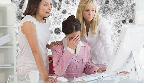 """""""Mac-Nutzer unterschätzen Internet-Risiken"""" (Bild: © [2008] JupiterImages Corporation)"""
