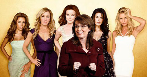 "Sarah Palin in ""Desperate Housewives"""