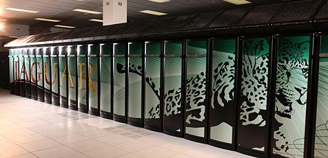 """""""Jaguar"""" jagt """"Roadrunner"""" (Bild: Nccs.gov)"""