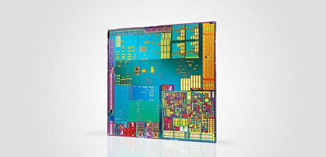 Schnellster Silizium-Chip der Welt entwickelt (Bild: Intel)