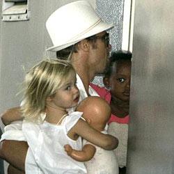Brad Pitt über das Leben mit seiner Rasselbande