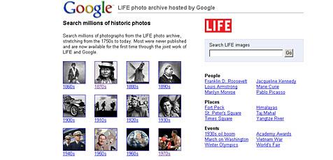 "Google stellt ""Life""-Fotoarchiv ins Internet"