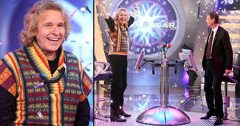 Gottschalk holt bei Jauch die Million (Bild: RTL/Stefan Gregorowius)