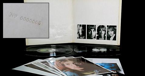 Rare Beatles-LP auf eBay für 22.700 € versteigert (Bild: eBay)