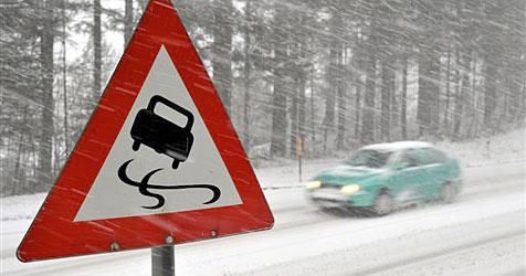 """Autofahrer müssen sich vor """"Blitzeis"""" in Acht nehmen"""