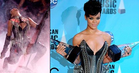 Chris Brown räumt ab - Rihanna rockt die Show!
