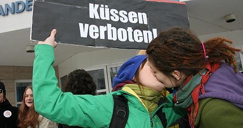 Aufregung um Bussi-Verbot-Schule hat sich gelegt (Bild: Horst Einöder)