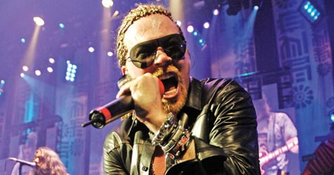 """Guns N"""" Roses sind sauer auf Dr Pepper (Bild: Universal Music)"""
