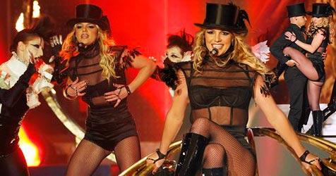 Britney Spears begeistert Bambi-Publikum