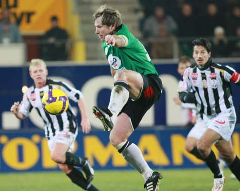 LASK verliert 0:1 in Ried (Bild: APA/Rubra)