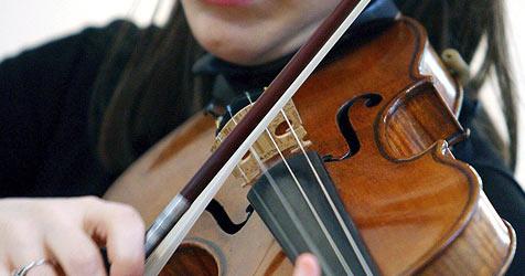 Aufregung um vermeintlich gestohlene Violine