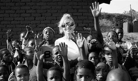 Madonna will mit Malawi-Doku wachrütteln