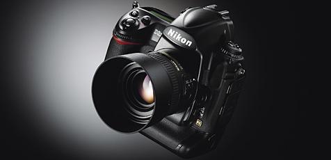 """Nikon stellt die """"D3X"""" vor (Bild: Nikon)"""