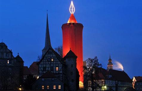 """In Deutschland steht die größte """"Kerze"""" der Welt"""
