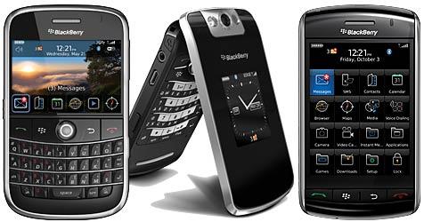 RIM will iPhone mit Blackberrys Paroli bieten (Bild: Research In Motion)