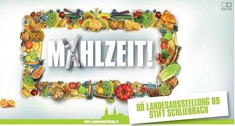 """""""Mahlzeit 2009"""" in Schlierbach (Bild: Landesausstellung Schlierbach)"""