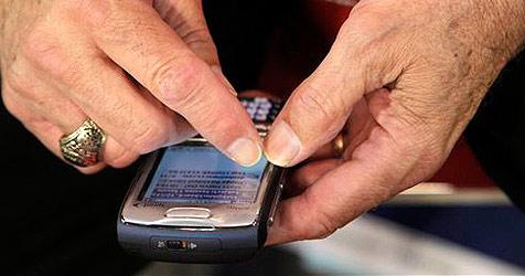 Pensionisten sind laut Studie wahre SMS-Muffel