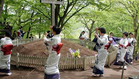 Dorf in Japan hütet Grab Jesu