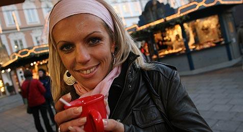 """Weihnachtsmarkt als """"Virentreff"""" (Bild: Horst Einöder)"""