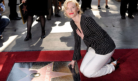Cate Blanchett hat jetzt Stern am Walk of Fame