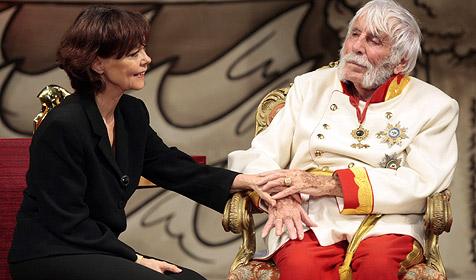 Heesters feierte 105. Geburtstag auf der Bühne (Bild: APA/DPA/A3417 Ulrich Perrey)