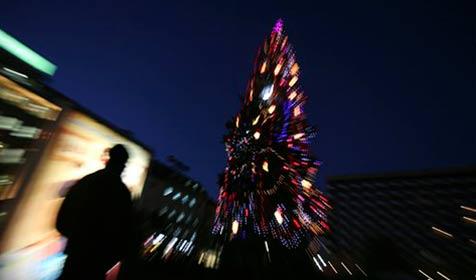 Immer mehr Menschen allein unterm Baum (Bild: AP)