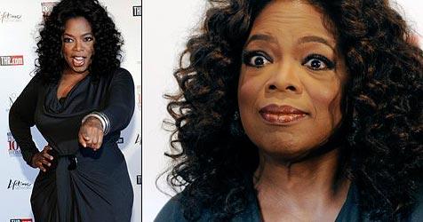Oprah Winfrey hadert mit ihrem Gewicht