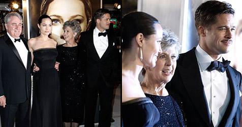 Pitts Eltern haben Jolie ins Herz geschlossen