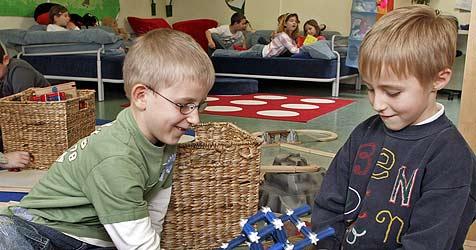 Gratis-Essen im Kindergarten spaltet Parteien (Bild: Reinhard Holl)