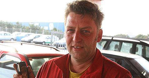 Mutiger Autohändler fängt Einbrecher (Bild: Horst Einöder)