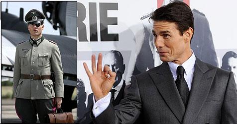 """Tom Cruise stellt umstrittenen Film """"Walküre"""" vor (Bild: AP Photos, STUDIO BABELSBERG AG)"""