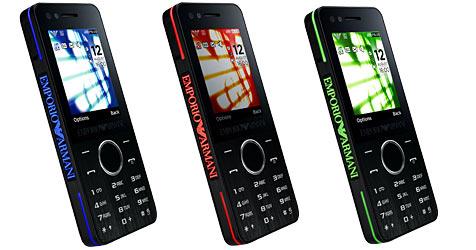 Zweites Armani-Handy von Samsung (Bild: Samsung)